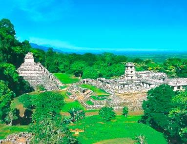 День 7. Руины Паленке – Мексиканский залив – колониальный город Кампече (365 км).