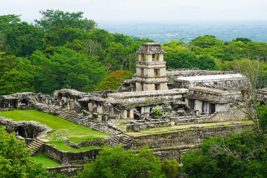 День 4. город майя Паленке – Мексиканский Залив – колониальный город Кампече