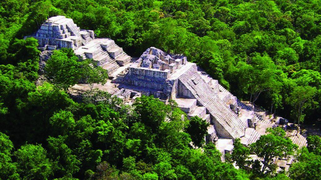 День 3. город майя в джунглях Калакмуль – Паленке